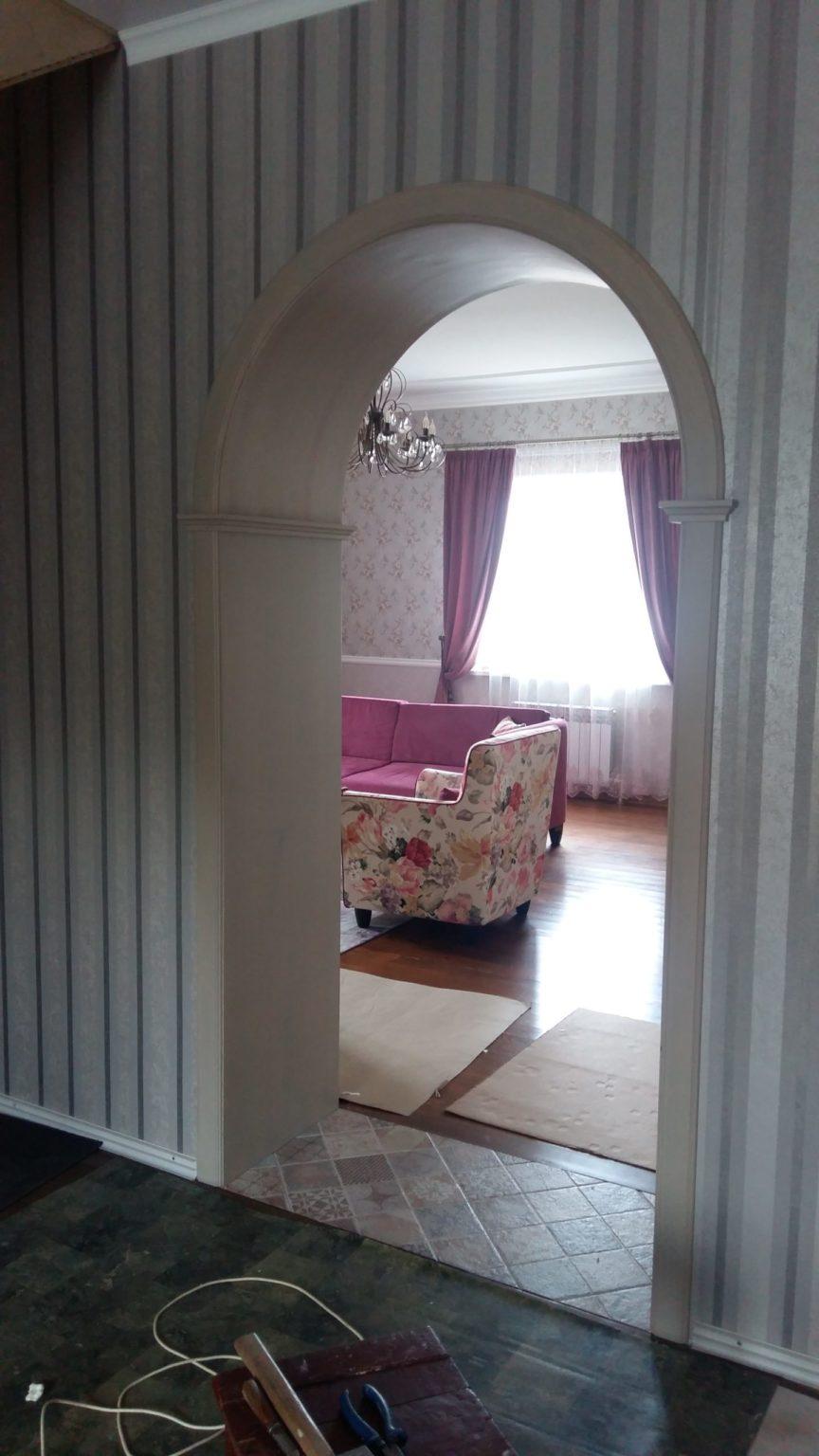 Деревянная арка на заказ Воронеж